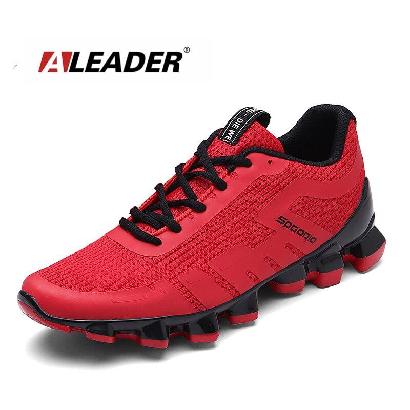 Aleader Hommes Razer Chaussures de Course D'été Athletic