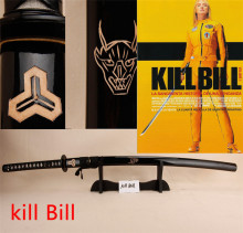 Kill Bill handmade sharp katana samurai japanese swords real katansa swords for sale katanas  Movie props The Bride