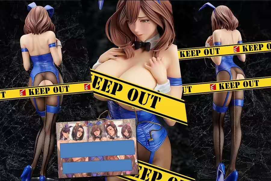 Native BINDing Anime figure Action <font><b>Sexy</b></font> Girls Binding NON VIRGIN Bunny Ver Model <font><b>1/4</b></font> Scale PVC Adult Kids Gift figuras Doll 42cm image