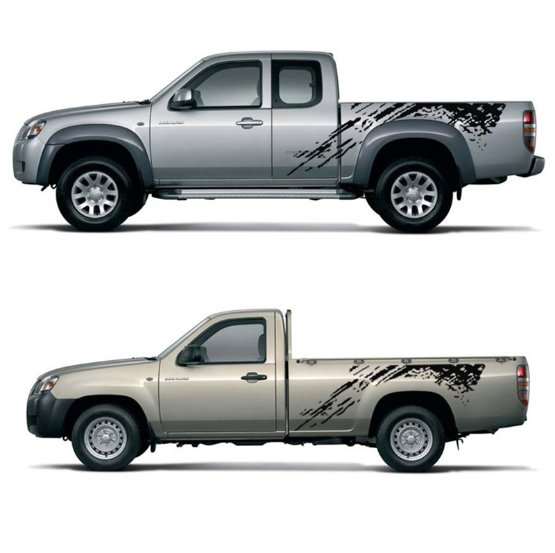 sierra silverado 012 Tailgate tribal decal sticker for pickup truck or car gmc