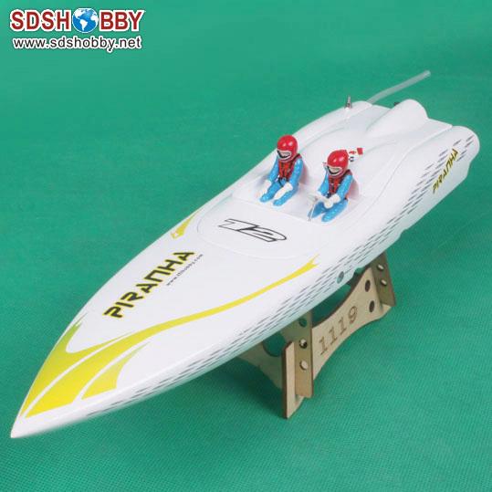Piranha 400 eléctrico sin escobillas RC barco de fibra de vidrio con 2040 KV2604 Motor con el agua de refrigeración de la 30A ESC con BEC