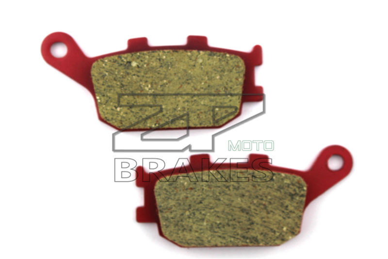 Motorcycle parts Ceramic Brake Pads Fit HONDA CB 400 SBS/SF4/5/S5 2004-2005 Rear OEM New Red Composite Free shipping mfs motor motorcycle part front rear brake discs rotor for yamaha yzf r6 2003 2004 2005 yzfr6 03 04 05 gold