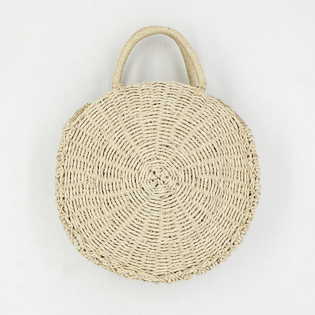 REREKAXI Rattan Weave Round...