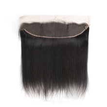 Hair 10Pcs/Lot Ear to Ear Lace Frontal Closure 13X4 with Baby Hair Pre Plucked Brazilian Straight Remy Hair Free Part