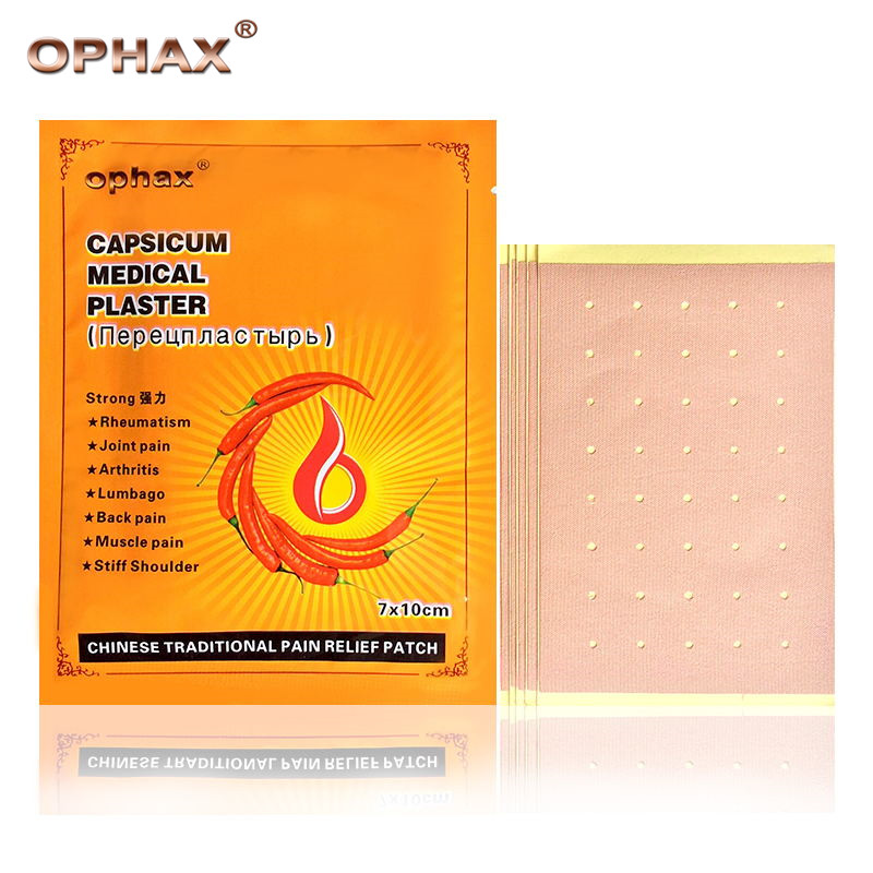 OPHAX 30pcs/6bags medical pain relief patch for joint/back/muscle pain rheumatism pain capsicum plaster massage health Care 2boxes 12 magnetic patch for hyperosteogeny medical massage patch treat osteoarthritis bone hyperplasia spondylosis herb plaster