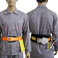 Outdoor Roof Climbing Harness Aerial Construction Fall Protection Roof Climbing Protective Harness Lanyard Very Easy to Wear|Climbing Accessories|   -