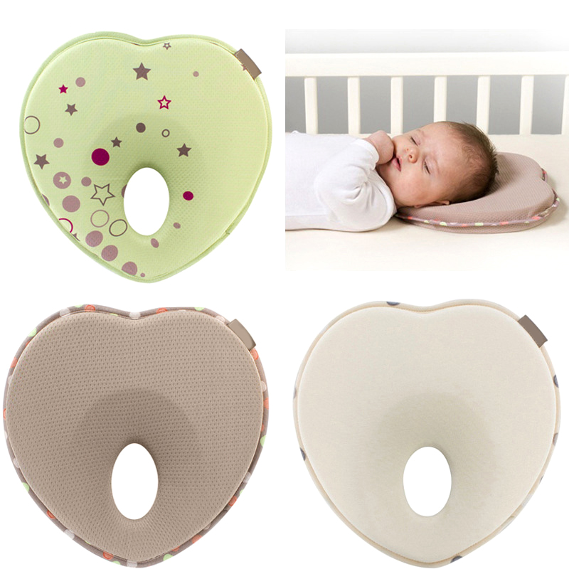 Baby Pillow Infant Toddler Sleep Positioner Anti Roll Cushion Flat Head Pillow Protection Of Newborn Almohadas Bebe