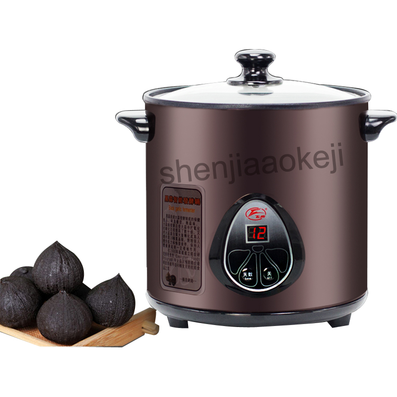 Black garlic fermentation machine 4L electrical black garlic ferment machine household automatic Intelligent black garlic maker футболка toy machine bummed black