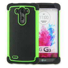 New Arrival Hybrid Rugged Rubber Shockproof Hard Phone Cases For LG G3 D855  D850 F400 With