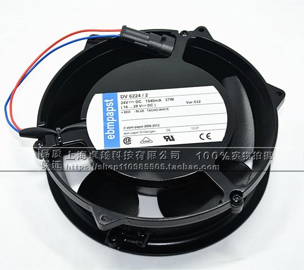 New original DV6224 / 2 24V original plug inverter fan 55KW / 75 / 90KW