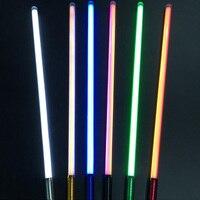 2018 New 16 Types 1 Pcs Sound Luke Lightsaber Black Series 60 100cm Length Vader Sword Light Saber Birthday Gift For Children