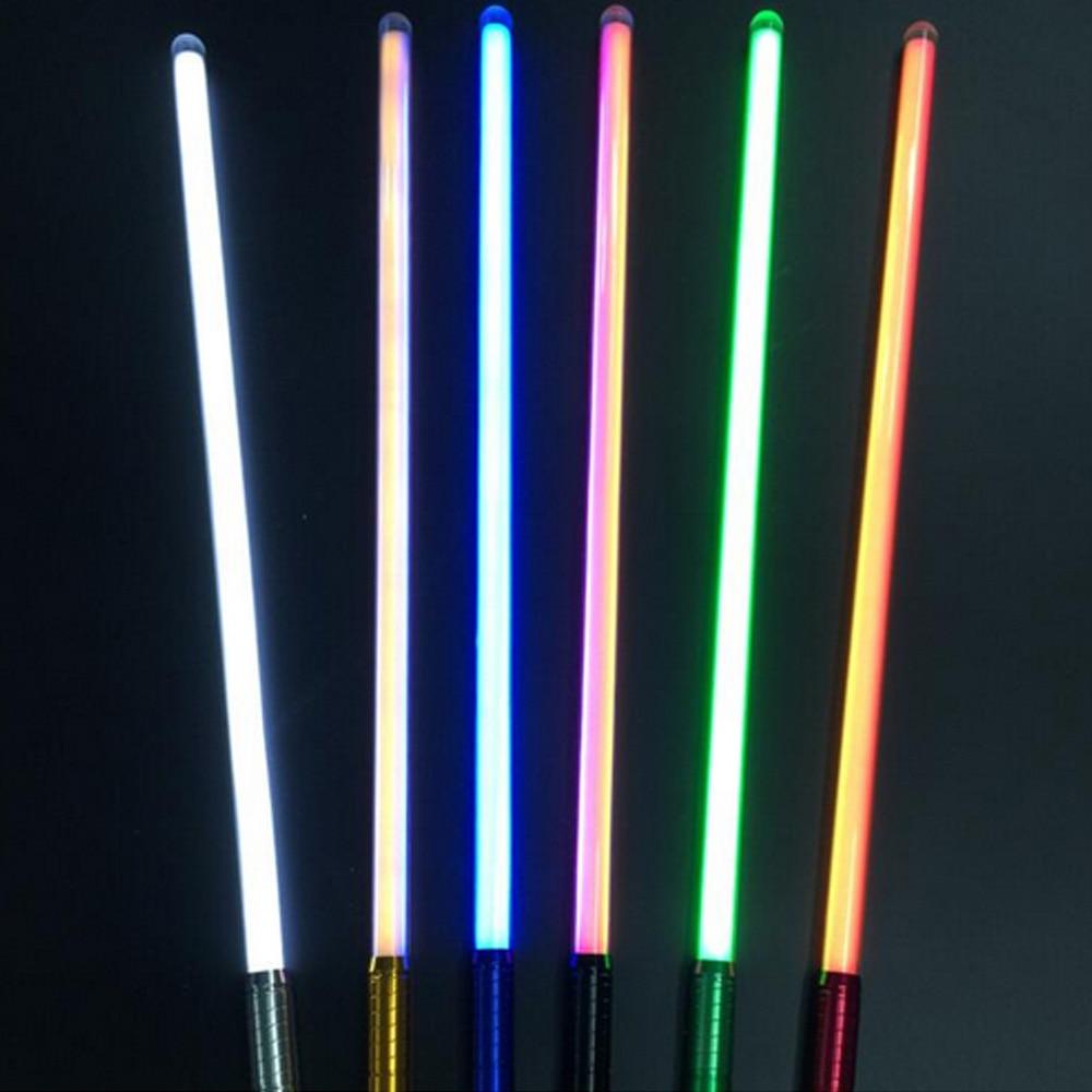 2018 Nouveau 16 Types 1 Pcs Son Luke Sabre Laser Noir série 60-100 cm Longueur Vader Épée Sabre laser D'anniversaire Cadeau Pour enfants