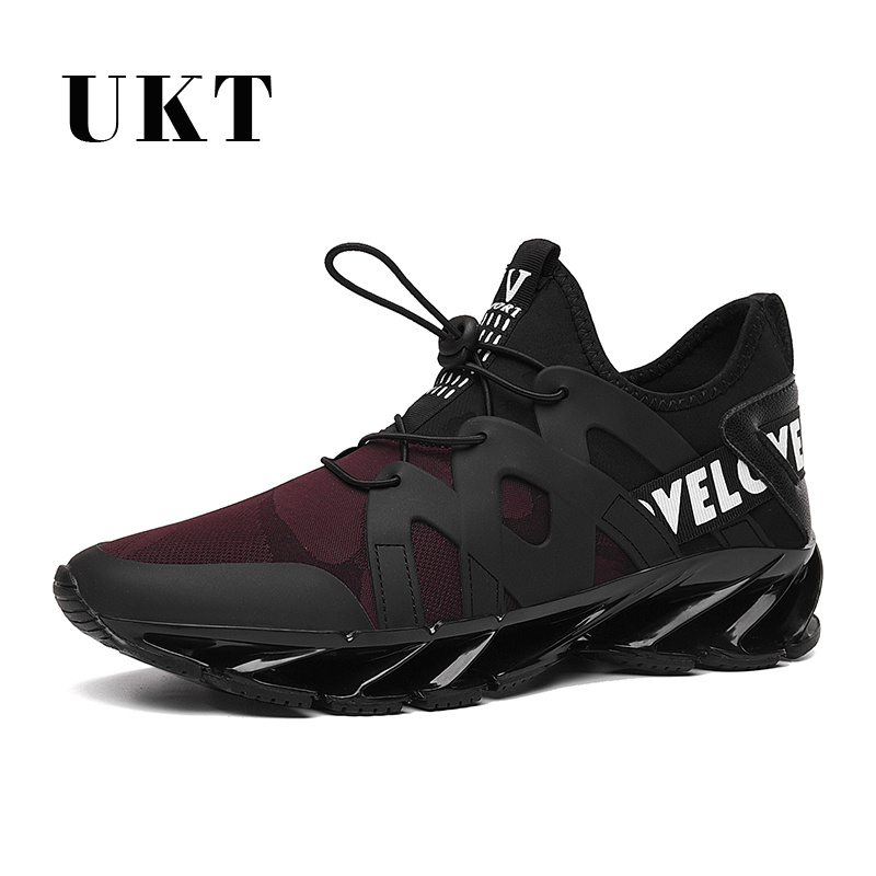 Breathable Man Sneakers Spring Summer PU+Fabric Cushioning Light elastic  Profession Running Shoes for MenBreathable Man Sneakers Spring Summer PU+Fabric Cushioning Light elastic  Profession Running Shoes for Men