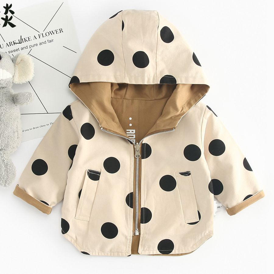 013a83fc US $23.44 |GIRLS COAT TODDLER GIRL COAT BOYS COAT KIDS COAT GIRLS JACKETS  BOYS Jacket winter jacket baby jacket dot pattern TC-in Jackets & Coats  from ...