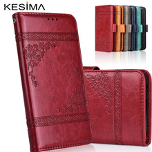 Wallet Leather Case for Huawei Y3 2017 CRO-L02 CRO-L22 CRO-L