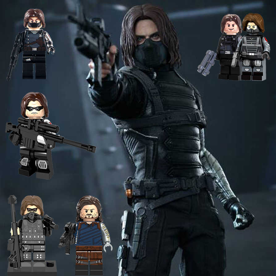 Detail Feedback Questions About Bucky Barnes Legoing Winter Soldier