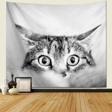 Animal Tapestry Multicolor Cat Wear Color Sunglasses Painting Wall Hanging Decor Art Home wall mandala tapestry