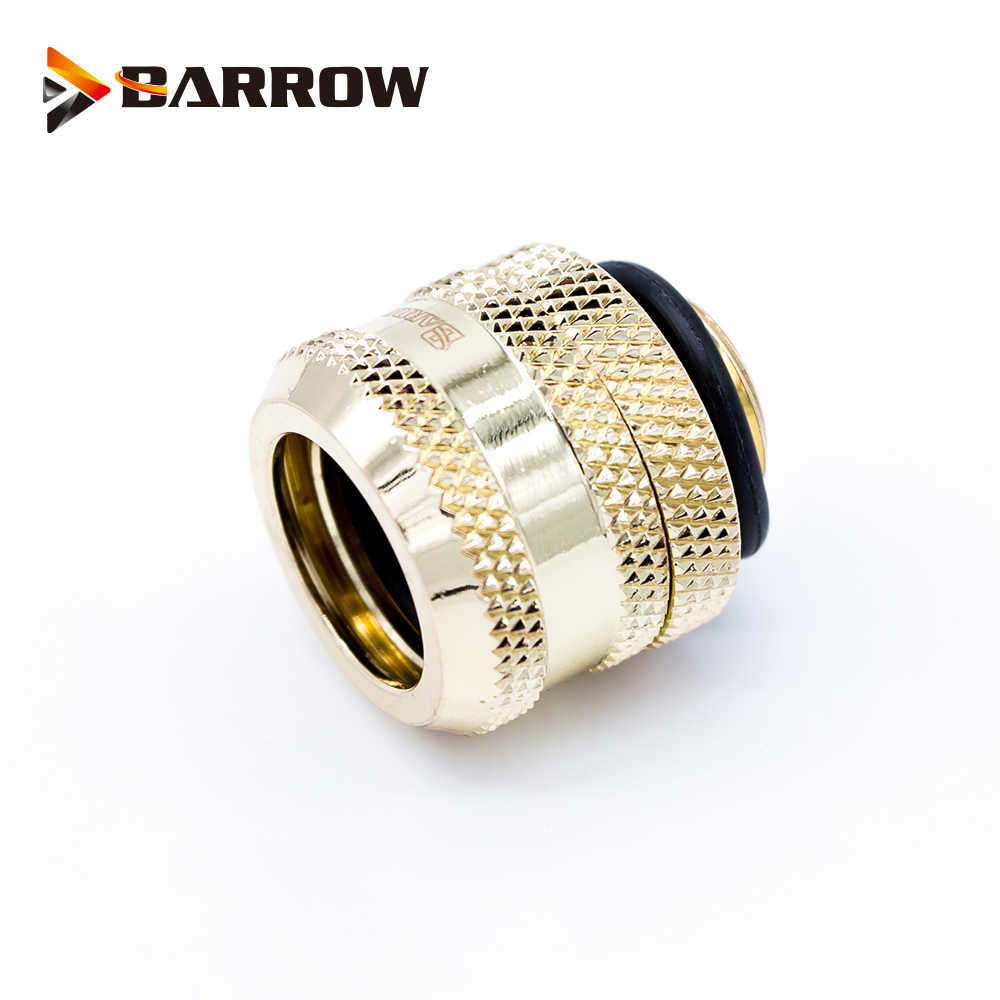 Barrow Kompresi Tangan OD12mm/OD14mm/OD16mm Hard Tube Fitting Pendingin Air Logam Konektor Pas G1/4 Inci benang Tepg Akrilik