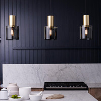Nordic LED Chandelier Danish Restaurant Lights Postmodern Simple Single Head Bar Bedside Coffee Shop Lamp Free Shipping