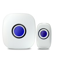 2018 Promotion Hot Sale Home Security Wireless Call Music Doorbell Welcome Alarm Modern Door Bell Visitor Chime With Best Price
