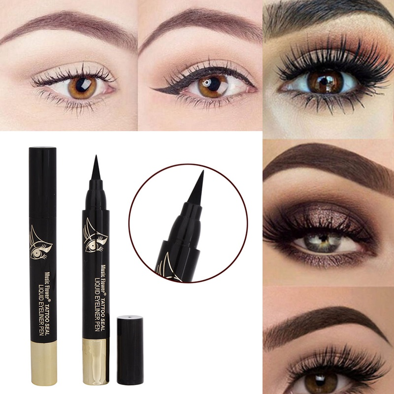 1 Pcs Eyes Makeup Tattoo Seal Liquid Eyeliner Pen Waterproof Matte