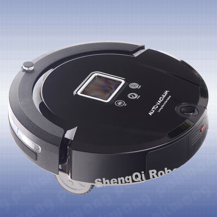 PAKWANG Automatic Vacuum Cleaner A320 Fullgo UV Sterilize Self-recharge Robot Aspirador Black