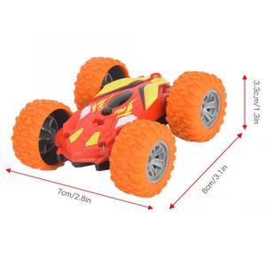 Image 2 - Esnek Mini RC dublör araba oyuncak bebek çocuk küçük uzaktan kumanda elektrikli dublör araba oyuncak çocuk hediye için