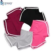New 1 Pcs Summer Shorts Women Esportes Shorts Workout Waistband Skinny Short