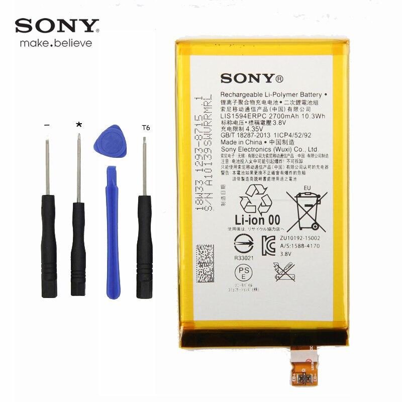 Sony LIS1594ERPC Battery Xmini Compact 2700mah Original For Xperia Z5mini-xa/Ultra/C6/..