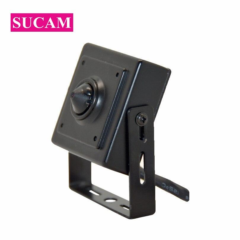 SUCAM Small Size Full HD 1080P Mini AHD Security Camera Home Surveillance Vandalproof 2MP AHD Camera