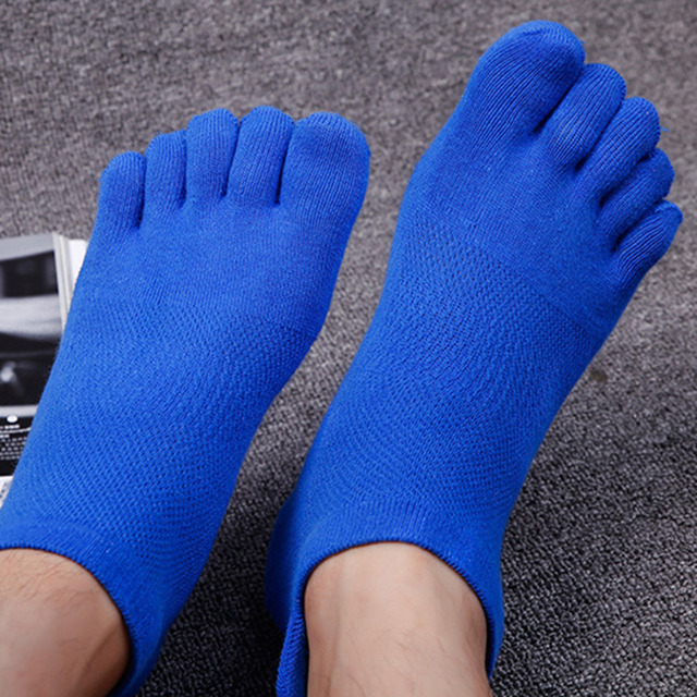 1pair Spring And Summer Cotton Sports Socks Thin Socks Breathable Mesh Male Brief Ship Boat Short Sport Sock Shallow Mouth Socks