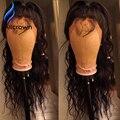 Barato Del Frente Del Cordón Humano Pelucas Delanteras Del Cordón Nudos HairBleached Frontal Del Cabello Humano Pelucas Con Pelo Del Bebé Rizado Peluca de Cabello Humano