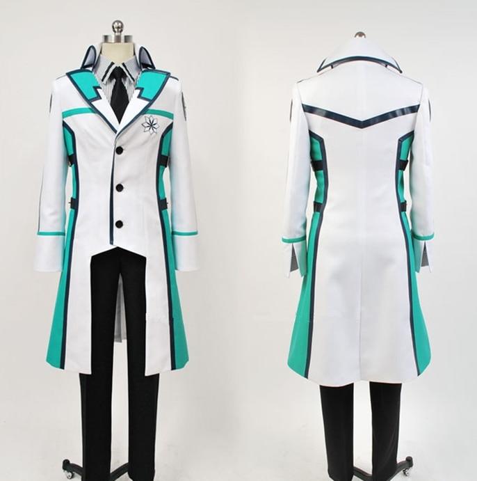 The Irregular at Magic High School Mahouka Koukou no Rettousei Shiba Tatsuya Cosplay Costume Casual Uniform Set Custom/S-XXL