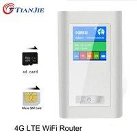 4G LTE Wifi Router Portable Mifi FDD GSM Wireless Hotspots Unlock Dongle 5200 MAh Power Bank