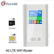 4G LTE Router Wifi Przenośny Mifi FDD-GSM Bezprzewodowy Hotspoty Unlock Szerokopasmowe Dongle 5200 MAh Banku Mocy z Portem RJ45 Mini Modem