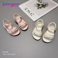 0 2T Summer Babies Baby Girl Princess Genuine Leather Shoes Infant Anti Slip Moccasins Newborn Bebe
