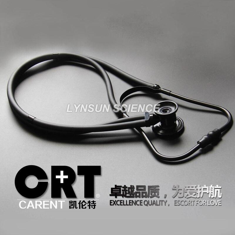 Classic Black Color Dual Head Professional Medical Cardiology Cute EMT Stethoscope