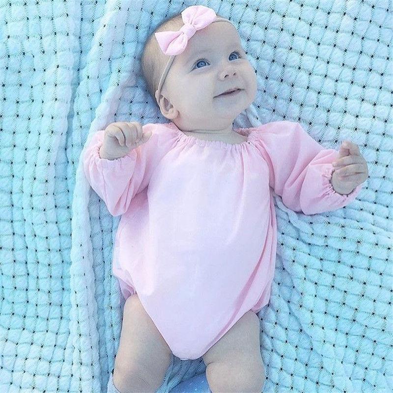 100% Wahr Nette Neugeborene Babys Strampler Body Jumpsuit 2 StÜcke Outfits Kleidung Overall Rosa Gelb Baumwolle Casual Baby Sets Eine Hohe Bewunderung Gewinnen