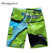 Bumpybeast 2017 swimsuit Quick Dry Men Shorts Brand Summer Casual Clothing Geometric Shorts Men's Board Beach Shorts size 6XL