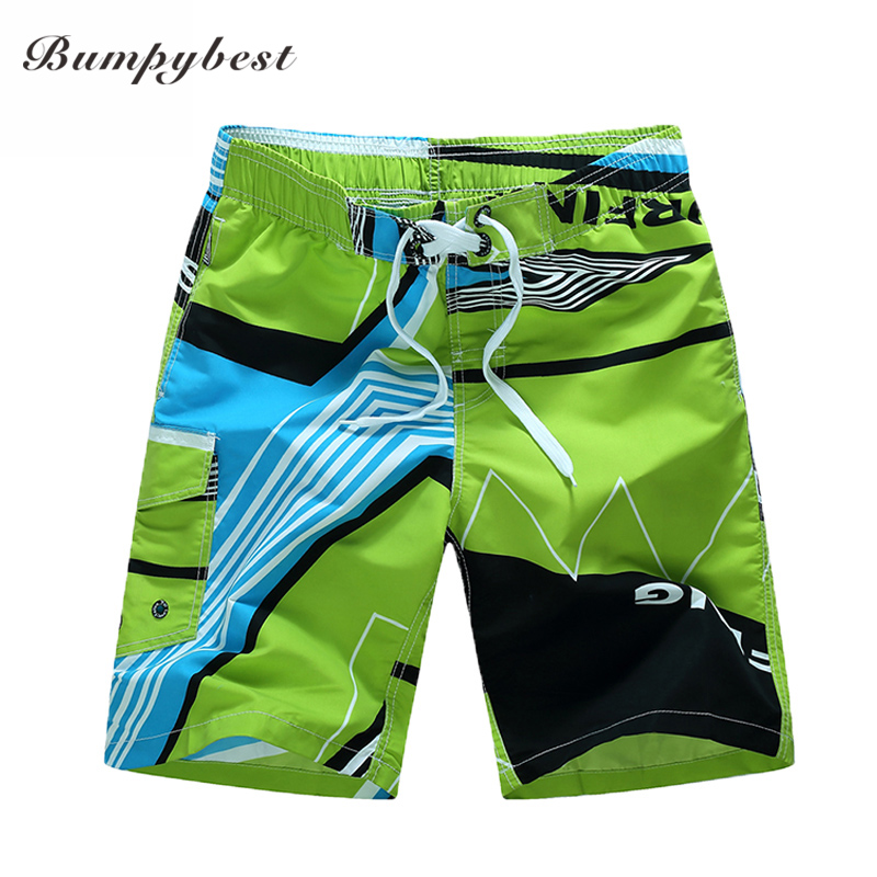 Bumpybeast 2019 swimsuit Quick Dry Men Shorts Brand Summer Casual Clothing Geometric Shorts Men's Board Beach Shorts size 6XL