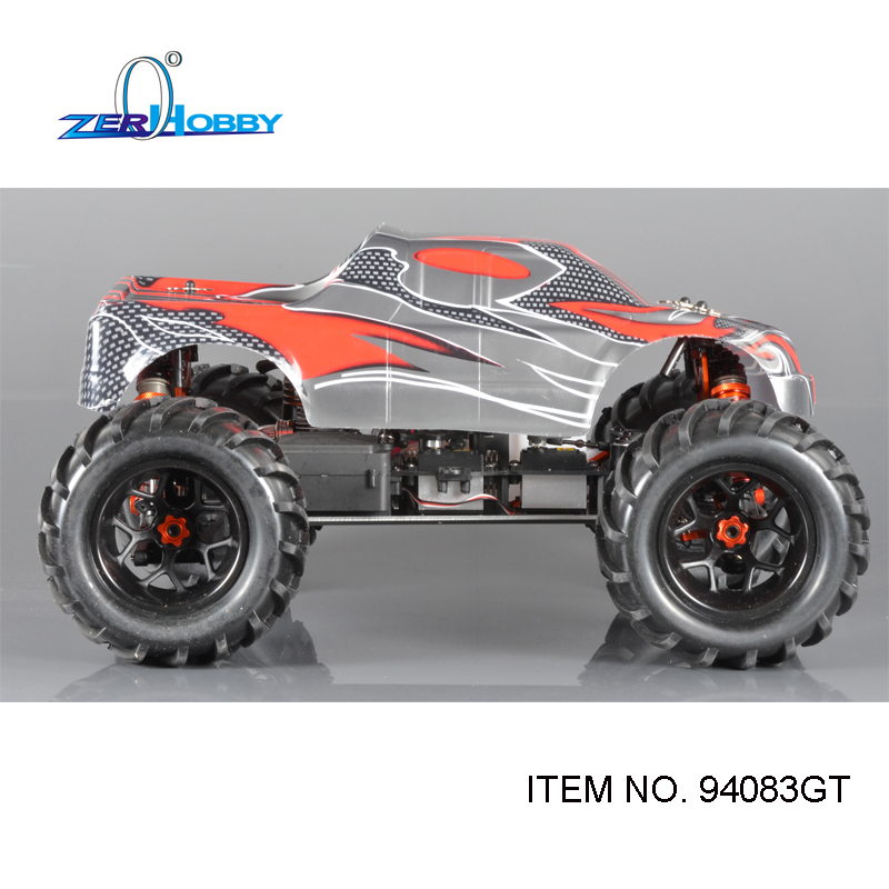 HSP RACING RC CAR 94083 94083GT 1/8 SCALE NITRO POWERED 4WD OFF ROAD MONSTER TRUCK HIGH POWER TW SH28CXP ENGINE 02023 clutch bell double gears 19t 24t for rc hsp 1 10th 4wd on road off road car truck silver