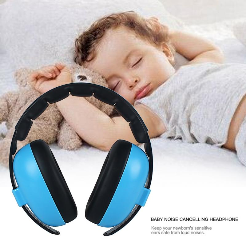 Kids Noise Cancelling Earmuffs Headphone ABS Hearing Protection Safety Earmuffs Noise Reduction Ear Protector For Child Baby#135