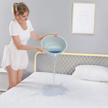 Waterproof Bed Sheets band mattress cover protector Mattress bed Cover Cotton Terry