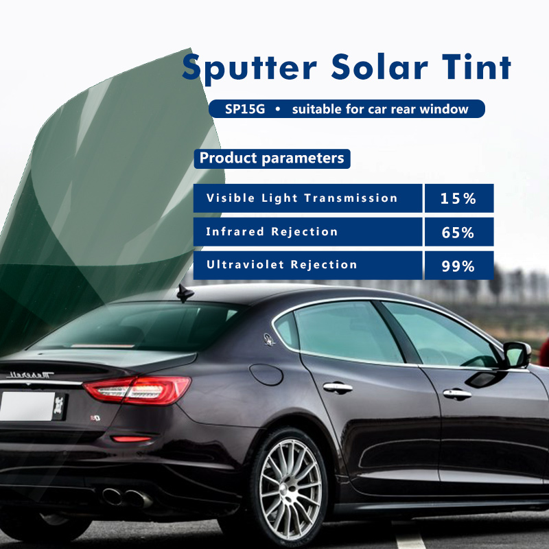 Sputtering reflective metalized window film for car solar window tinting 60inx10ft(1.52x3m)