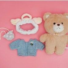 Kawaii bunny rabbit and bear plush doll stuffed brinquedos toys hobbies for children girls stuffed kids toys