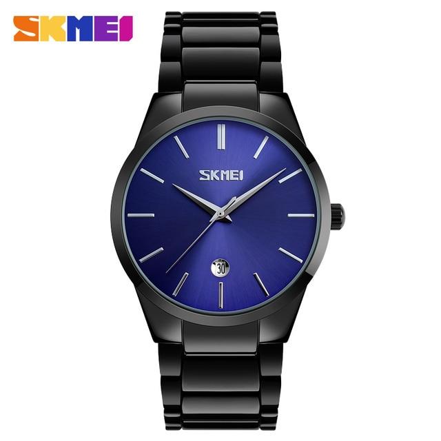d33575823291 Azul del reloj SKMEI 9140 la de hombres reloj de pulsera relojes de cuarzo  para hombres
