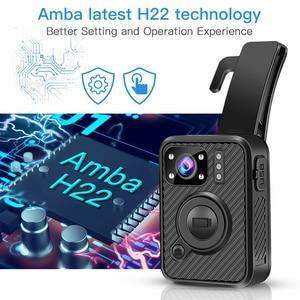 Image 5 - BOBLOV Wifi Polizei Kamera F1 32GB Körper Kamera 1440P Getragen Kameras Für Recht Durchsetzung 10H Aufnahme GPS nachtsicht DVR Recorder