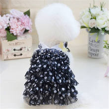 New 2019 Hot Sale Cotton Pet Cute Summer Dog Sling Princess Dress Puppy dog Cats Party Lace dresses Butterfly Skirts Costum