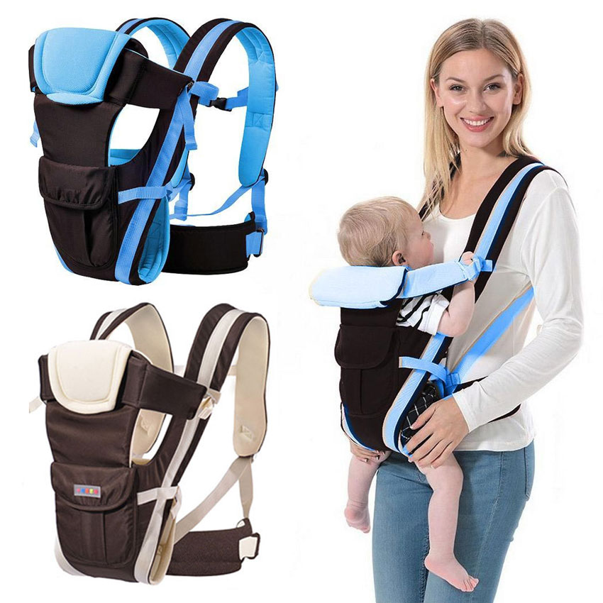 Breathable Cotton Baby Carrier Sling Infant Carrier Backpack Pouch For Kangaroo Fashion Mummy Newborn Ergonomic Infant Travel New Varieties Are Introduced One After Another Backpacks & Carriers Activity & Gear
