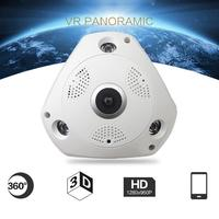 New 360 Degree Panoramic Wireless Home Security Surveillance IP Camera Audio Video WiFi 18Mar01 Drop Ship F